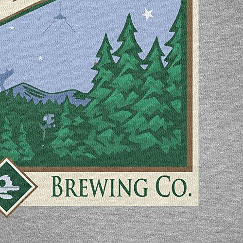 TEXLAB - Forest Moon Ale - Herren T-Shirt Grau Meliert