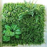 Efeu Künstlich Hängende Rebe Plants Wanddekoration Pflanzenwand Balkon Dekoration, 6 Arten, 1㎡