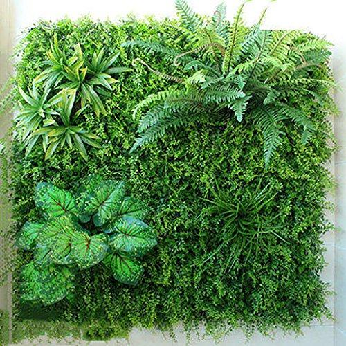 Artificiel Lierre Plantes Feuille Vigne Suspendue Feuilles Mur Végétal Balcon Décoration, 6 Styles, 1㎡