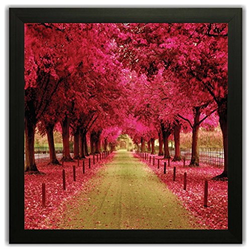 Beautiful Framed Floral Autumn Season Wall Paintings for Living room and Bedroom...