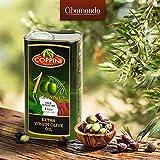 Produkt-Bild: Olivenöl extra nativ von Coppini einem Familienbetrieb aus Umbrien / Italien | mild und fruchtig | Kaltgepresst für Premium Qualität | im praktischen 1 Liter Kanister