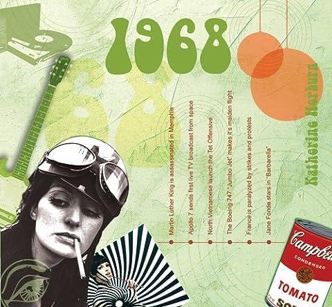 A TIME TO REMEMBER 1968 THE CLASSIC YEARS - CARTE DE VOEUX ET CD POUR TOUTES LES OCCASIONS SPÉCIALES