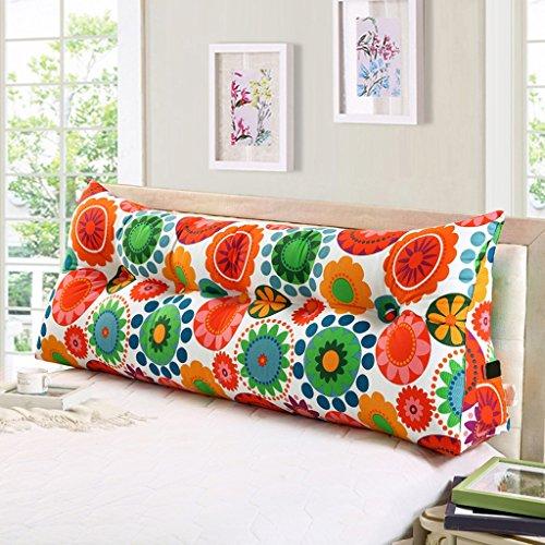 Cuscino per divano letto matrimoniale Cuscino per divano Grande schienale (Colore : D, dimensioni : 150cm)