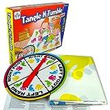 VZOM Lustige Body Twister Spiel, Brettspiel, Bodenspiele, Partei liefert, Neuheit Spielzeug, tolles Geschenk für Picknick, Outdoor, Büro, Heim und Reisen.