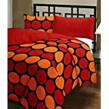 Style Seven Trendy Geometrical Print Double Bed Size Reversible AC Quilt/Blanket / Dohar