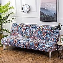 Aisaving Armless - Funda para sofá o Cama, diseño Floral Vintage
