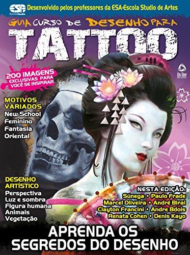 Guia Curso de Desenho para Tattoo 02 (Portuguese Edition) por On Line Editora