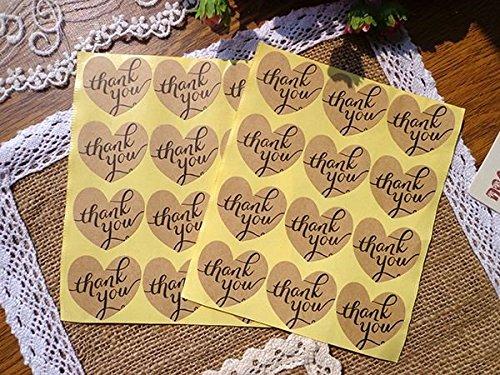 autocollant-thank-you-forme-coeur-etiquette-carte-cadeau-papier-cadeau-artisanat