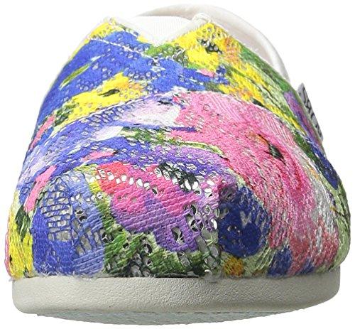 Bobs Aus Skechers Kühlung Luxus Schuh White Multi Flowers