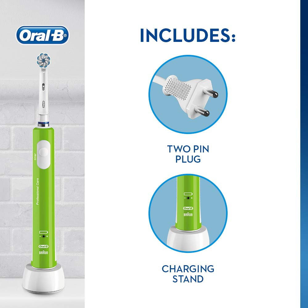 Oral B Junior Kids Electric Toothbrush Rechargeable for C