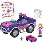Polly Pocket ve Arabası Oyun Seti FWY26