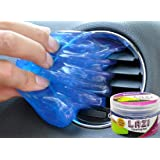 LAZI Multipurpose Car AC vent Interior Dust Cleaning Gel Jelly Detailing Putty Cleaner Kit Universal Car Interior, Keyboard,