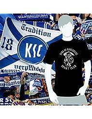 World of Football T-Shirt Sons of Karlsruhe Sportclub schwarz