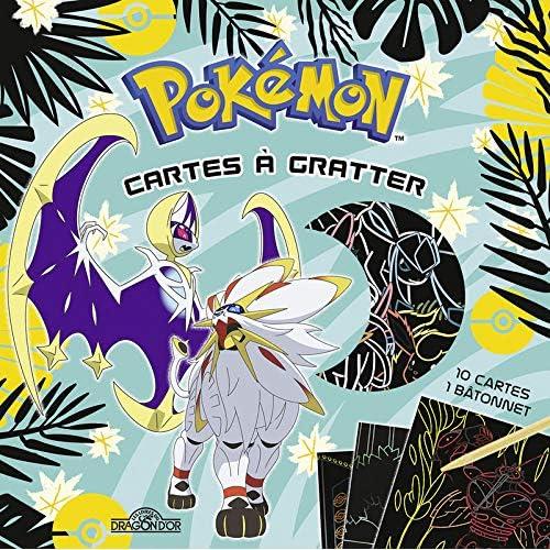 Mes cartes à gratter - Les Pokémon légendaires