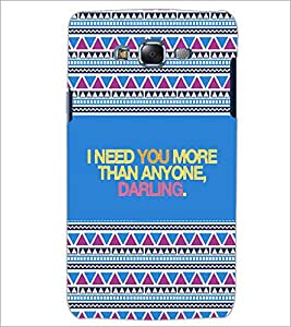 PrintDhaba Quote D-4667 Back Case Cover for SAMSUNG GALAXY J5 (Multi-Coloured)