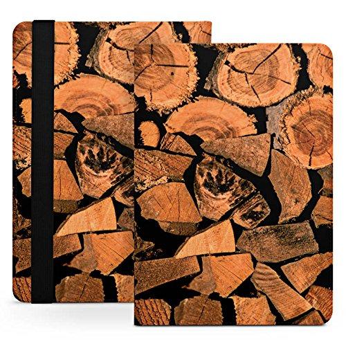 Archos 80 G9 Stand Up Tasche Bag Hülle - gestapeltes Holz (Gestapelte Holz)