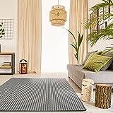Premium Schlingen Teppich Matterhorn - Farbe wählbar / schadstoffgeprüft pflegeleicht und robust / für Wohnzimmer Schlafzimmer Büros und auch für Fußbodenheizung geeignet , Farbe:anthrazit, Größe:200 x 250 cm