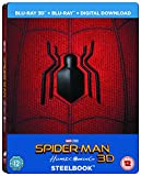 Spider-Man Homecoming [Limited Edition Blu-ray Steelbook + Comic] [2017]