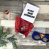 Du bist meine Superheldin - Box personalisiert mit Schlüsselanhänger Geschenk Erzieherin Lehrerin Mama