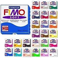 Fimo Soft Starter Pack 12 X 56 G Multicolour Blocks by Steadtler