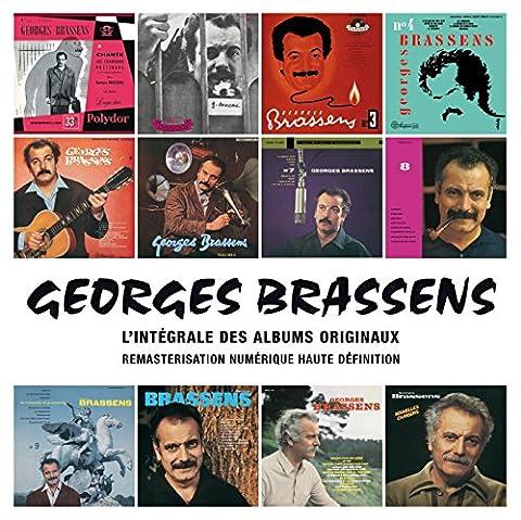 Georges Brassens : L'Intégrale Des Albums Studio (Coffret 14