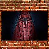 boxprints Spiderman Canvas Wall Art Print Picture Grandes Petites Options Grande 80x50cm (32'x20')