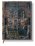 Faszinierende Handschriften Michelangelo - Faux Leder - Notizbuch Groß Liniert - Paperblanks