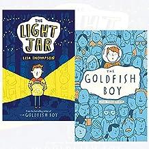 Lisa thompson collection light jar,goldfish boy 2 books set