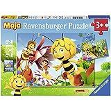 Ravensburger Puzzle 07594 - Biene Maja auf der Blumenwiese 2 x 12 Teile