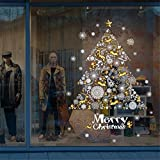 Amlaiworld 2018 Merry Christmas Albero di Natale Adesivo murale Rimovibile