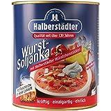 Halberstädter Wurst Soljanka 800ml | INKL DDR Geschenkkarte | Ossi Produkte | Ideal für jedes DDR Geschenkset | DDR Traditionsprodukt und Ossi Kultprodukt | DDR Produkte
