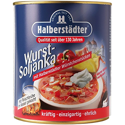 Halberstädter Wurst Soljanka 800ml | tolle DDR Kultprodukte | DDR Produkte