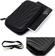 GANIX Shockproof External Hard Disk Case for Seagate 2.5-Inch HDD (Black, SGHDPOUCH)