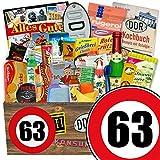 Geschenkkorb | Zahl 63 | DDR Box Mama | 24x Allerlei