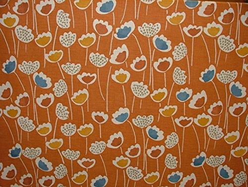 Halben Meter Prestigious Textiles Mango Clara Scandi Vorhang Raffrollo Möbelstoff, Blumenmuster (Chenille-gobelin-polster)