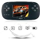 """Rongyuxuan Jeu Console de Poche, Game Console 2.8 """"LCD PVP Plus Game Player 168 Jeux Console de Jeu Portable Classique…"""
