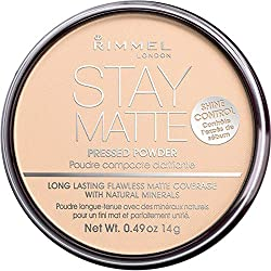 RIMMEL Stay Matte Pressed Powder 5h Shine Control 012 Buff Beige 0.49 oz. (14g)