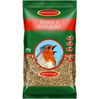 Wild Bird Robin Mix With Insects 2kg