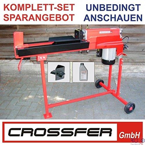 HOLZSPALTER LS5T-52Ty vario LIEGEND 230V 52 CM VARIO 3er Set