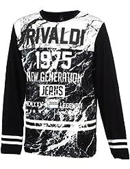 Rivaldi - Mac black ml tee - Tee shirt manches longues