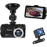 """Dash Cam, 3.0"""" FHD 1080P 170° weitwinkel Kamera Video Kanal für Rückfahrkamera. Armaturenbrett Kamera, G-Sensor, Schleifenaufnahme, Parküberwachung, Nachtsicht. 16 GB TF Card ist enthalten"""