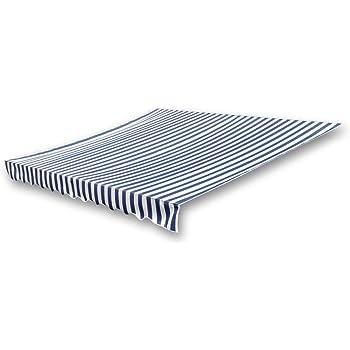 vidaXL Klemmmarkise ohne Rahmen 4x3m Markisentuch Sonnendach Markisenstoff