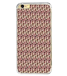 Fiobs Designer Back Case Cover for Apple iPhone 6 (4.7 Inches) (Multicolor Line Ethnic Design)