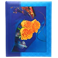 NATRAJ Plastic Photo Album (4x6 inch, Multicolour)