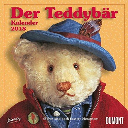 Der Teddybär 2018 - Broschürenkalender - Wandkalender - Format 30 x 30 cm: Bären sind doch bessere Menschen
