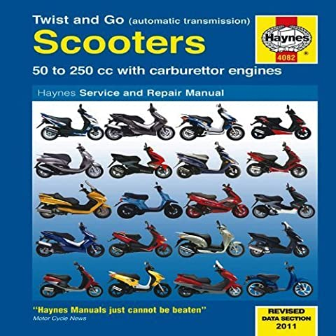 Twist and Go Scooters: 50 to 250 cc with Carburetor Engines (Haynes Manuals) by Bob Henderson (2011-06-11)