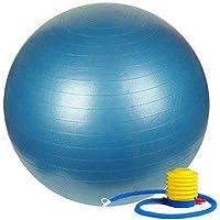 Veloz Unisex I Multisport Gym Ball with Pump | Rubber | VELOZ ® I Anti-Burst Gym Ball with Pump