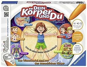 """Ravensburger 00560 - tiptoi """"Dein Körper und du"""""""