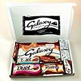 The Mega Galaxy Treat Box! Includes 390g Gift Bar! - Christmas, Birthday, Valentines, Mother's Day Gift - By Moreton Gifts!