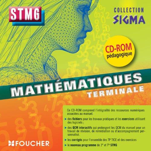Sigma Mathématiques Tle Bac STMG CD-ROM